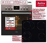 Amica EHC 12550 E Herd-Kochfeld-Kombination / A / 0.95 kWh / 66 L / Steam Clean Reinigungsfunktion...