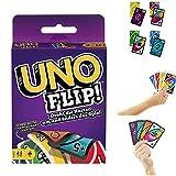 Flip Kartenspiel UNO (UK-Variante - englische Beschreibung, deutsche Anleitung selbst hinzugefügt)
