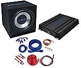 Crunch CBP1000– Audio-Verstärker fürs Auto (schwarz, 50–250Hz, 50–250Hz,...