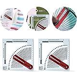 YAOL 2 pcs Strickrechner, Stricken Pullovern DIY-Stoffwebwerkzeuge, Bastelstrickrechner mit...