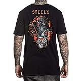 Sullen Men's Snarl Short Sleeve T Shirt Black 3XL