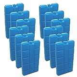 NEMT 24 Stück Kühlakkus Kühlelemente je 200ml für Kühltasche oder Kühlbox bis 12 h Kühlpack...