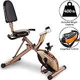 Exerpeutic GOLD 525XLR Klappbarer Liege-Heimtrainer/ Recumbent Bike mit 181kg maximalem...