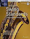 Swing Standards: Die 14 schönsten Swing-Balladen. Tenor-Saxophon. Ausgabe mit Online-Audiodatei....