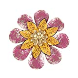 UPKOCH Dekorative Eisenblume Ornament Simulation Blume Kunsthandwerk Wandbehang Anhänger...