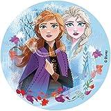 Dekora 231347 Disney Die Eiskönigin Tortenaufleger aus zuckerfreiem Esspapier-16 cm