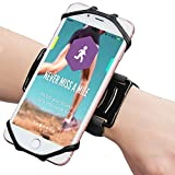 Bovon Universal Sportarmband für 4.0-6.2 Zoll Smartphones, 180° Drehbar Handgelenk Sport...