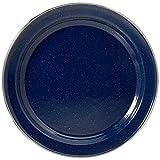 Relags Emaille Teller, Blau, 20 cm