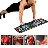 NXXML Tragbare Faltbare Push-Up Board Multifunktions 14 in 1 System Home Gym Fitness Pressup Steht...