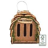 Gardigo Schmetterlingshaus zur Schmetterlingszucht und Gartendeko I Insektenhaus für Schmetterling...