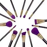 Jialun Make-up-Pinsel-Set, synthetisch, Kabuki, 15 Stück