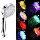 Einfach zu installieren Universal-Dusche, Romantische 7 Farbe Led-Leuchten Regendusche Kopf, Allein...