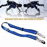 hehsd0 Fallschutz-Umhngeband, Sicherheitsgeschirr, Baumklettergurt, 23 kn, verstellbar, Bergsteigen,...