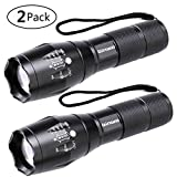 LED Taschenlampe, Binwo Tragbarer Zoombar Superhelle 2000 Lumen CREE LED Taschenlampe, 5 Modis...