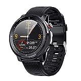 LQLQ Smart Watch 1.3 Zoll-Full-fit-Runde Sport Retina Display Herzfrequenz Bluetooth Musik mit...
