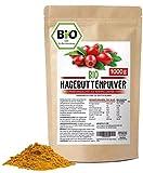 Hagebuttenpulver Bio 1kg Bio Hagebuttenpulver | Ganze gemahlene Hagebutte | Hagebuttenpulver aus...