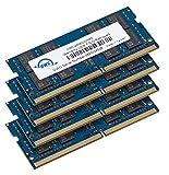 OWC 64 GB (4 x 16 GB) 2666 MHz DDR4 PC4-21300 SO-DIMM 260-Pin-Speicher-Upgrade (OWC2666DDR4S64S),...