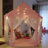 Prinzessin Castle spielen Zelt mit Licht - 55'x 53'(DxH), UniqueVC Kinderspielhaus fr Kinder...