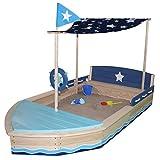 Sun Sandkasten Sternen-Schiff aus Holz