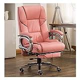 Bürostuhl,Computer Stuhl Home PU Leder Chef Stuhl, Reclining Bürostuhl Mittagspause Drehstuhl...