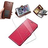 WLSM für Nokia 7.2 Hülle, Wallet Case, [1 x Schutzfolie Screen ], Handy Klapphülle, Schutzhülle...