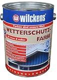 Wilckens Wetterschutzfarbe, RAL 8017 schokoladenbraun, 2,5 Liter 11181700080