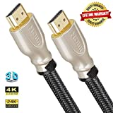 Farstrider HDMI-Kabel, 35FT(10.66M), Pearl Nickel, Stück: 1
