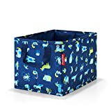 Reisenthel storagebox kids abc friends blue Kulturtasche, 34 cm, 18 Liter, Abc Friends Blue