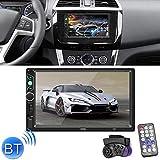 DASFNVBIDFAHB 7-Zoll-Touch-Screen-Monitor HDMI HD TFT LCD, Display Unterstützung FM & Bluetooth &...