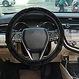 LXSTARS Lenkradbezug, Universalgröße, Auto-Lenkradbezug, automatischer Auto-Schutz, Plüsch,...