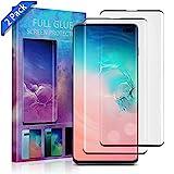Aclouddate1 Galaxy S10 Plus Panzerglas Schutzfolie, [2 Stück] 3D Full Cover Panzerglas für Samsung...