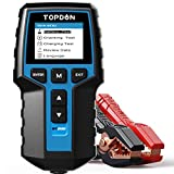 Autobatterietester 12V 24V Lasttester, TOPDON BT200 100-2000CCA Autobatterie-Tester Generatorprüfer...