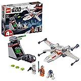 LEGO 75235 Star Wars X-Wing Starfighter Trench Run Bauset mit Luke Skywalker, R2-D2 und...