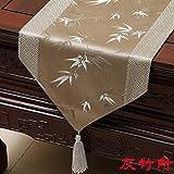 An5Xin Vintage Floral Tischläufer Quaste Stoff Baumwolle Tischläufer Tapisserie Stoffbezug Für...