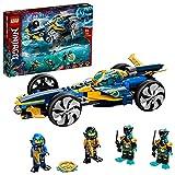 LEGO 71752 NINJAGO Ninja-Unterwasserspeeder, U-Boot Spielzeug ab 8 Jahre, Set mit 4 Ninja Mini...