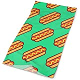 Quintion Robeson Hot Dog Muster Green Headwrap Unisex Multifunktionskopfbedeckung Polyester Soft...
