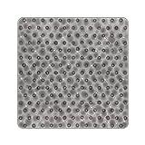 BliGli Rutschfeste quadratische Duschmatte für Badezimmer Wasser Cube durchscheinende PVC...