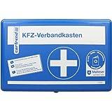 Cartrend 7700126 Verbandkasten Classic mit Malteser Erste-Hilfe-Sofortmaßnahmen, DIN 13164, Blau