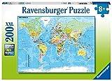Ravensburger Kinderpuzzle 12890 - Die Welt - 200 Teile