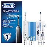 Oral-B Mundpflege-Center Smart5000 Elektrische Zahnbürste+Oxyjet Munddusche, für effektive...