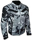 HEYBERRY Motorrad Jacke Motorradjacke Camouflage Urban Gr. XXL