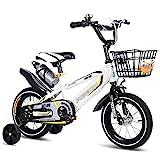 GAIQIN Langlebig 12'14' Kinder Fahrrad für Mädchen & Jungen mit Korb- und Trainingsrädern, 85%...