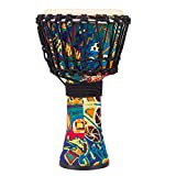 CuteLife Fairtrade-Trommel Leichtes African Drum Travel Tragbarer Tunable Fall Feste Moistureproof...