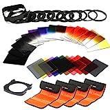 K&F Concept Objektiv Square Filterset 40 Stücke Quadratische Filter Set mit Verlaufsfilter...