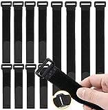 O-Kinee 30 Stück Klettverschluss, Kabelbinder Klettverschluss, Kabel-Klettband Kabelklett...