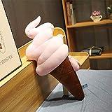 N / A Cartoon Softeis Kuchen Plüsch Spielzeug Kissen, Home Sofa Dekoration Kissen, Kinderspielzeug,...