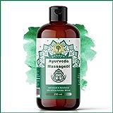 Ayurvedisches Massageöl 250 ML mit entkrampfendem Pfefferminz | XL von Grüne Valerie | Besonders...