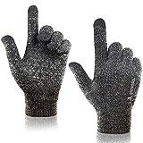 arteesol Touchscreen Handschuhe, Winterhandschuhe Herren Damen gestrickt Anti-Rutsch Winddicht...