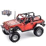 SMUOO 1: 9.5 R/C Gelndewagen Bausteine, 2.4G Fernbedienung Spielzeugautomodell-Bausteine Bricks...