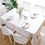 Nfudishpu Tischdecke aus PU, für den Haushalt, wasserdicht, ölabweisend, schmutzabweisend,...